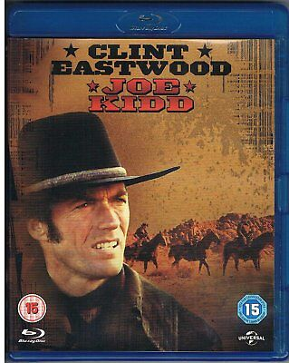 Joe Kidd (1972) Clint Eastwood - Blu-Ray BRAND NEW Free Ship