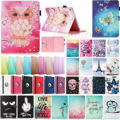 """For iPad 6 6th Gen 9.7"""" 2018 A1893 A1954 Wake/Sleep Leather Case Cover + Film"""