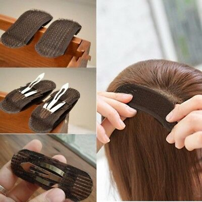 2pc Bump it Up Volume Hair Insert Clip Back Beehive Marking style Tool holder T4