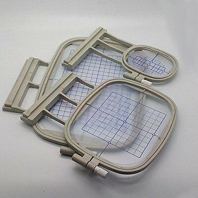 3 Hoops for Brother Embroidery Machine Duetta 4500D 4750D Quattro 6000D 6700D