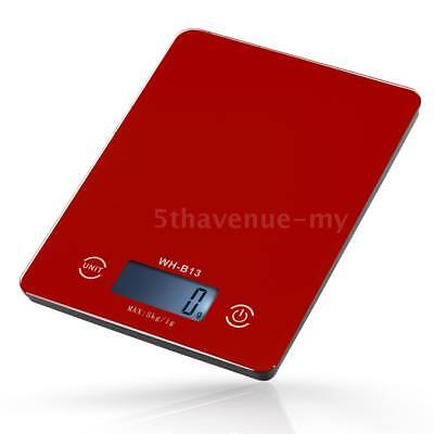 5KG/1G Accurate Touch Screen LCD Backlight Digital Kitchen Food Scale H7W4