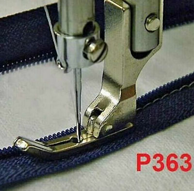 Industrial Sewing Machine Narrow Zipper Presser Foot P363 for Brother 40322SH