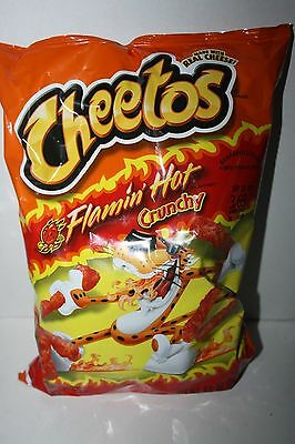 Cheetos Flamin' Hot Crunchy Cheese Flavored Snacks 240.9g bag