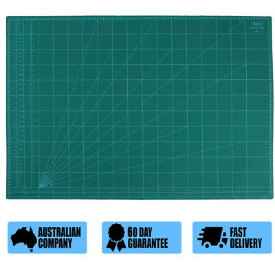 A1 Thick 5-Ply Self Healing Craft Cutting Mat 2-Side Quilting Scrapbooking SDE