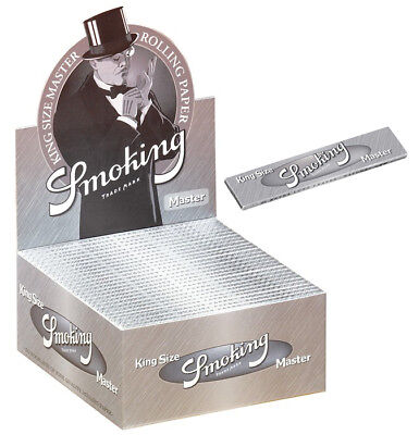 Smoking 50 x 33  King Size Papers K.S. Blättchen Zigarettenpapier Longpapers