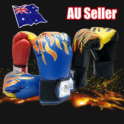 Children Kids Boxing Sparring Training Gloves MMA Kick Boxing Punching Gloves BK