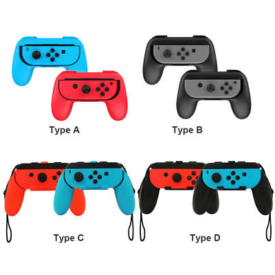 2Pcs Handle Grips Gamepad Holder For Nintendo Switch Joy-con Gaming Controller