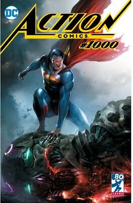Action Comics #1000 Francesco Mattina TRADE DRESS Variant PREORDER