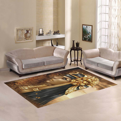 New Arrival Beautiful Ancient Fantasy Egyptian Queen Area Rug Floor Rug Carpet