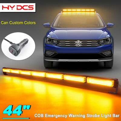 44 126w cob led traffic advisor security emergency warn strobe 44 126w cob led traffic advisor security emergency warn strobe light bar amber aloadofball Image collections