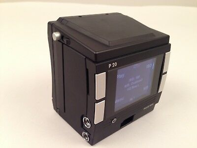 Phase One P20 digital back to fit Hasselblad V system. Excellent condition.