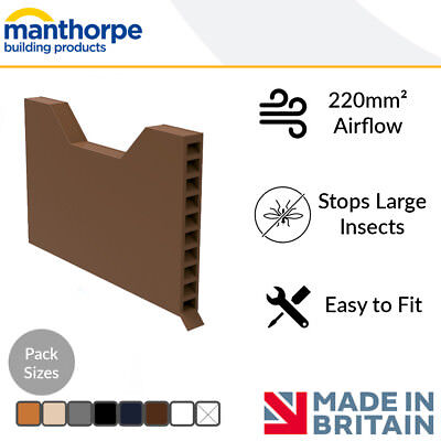 Weep Vents | Cavity House Ventilation | Brick/Wall Weep Vent | Manthorpe | Packs