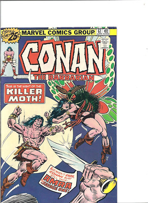Conan the Barbarian no. 61, Marvel, 1976, Fine+