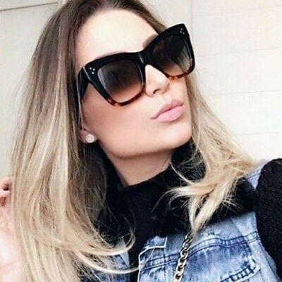 bd2a4a0676e 2018 Fashion Sunglasses Black Fashion Top S Women Square Aviator Celine  Design