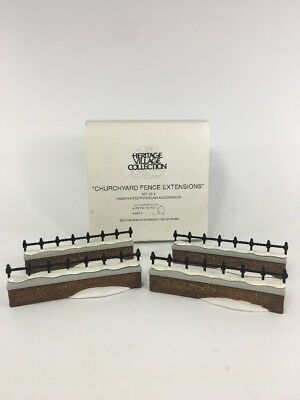 Dept 56 Dickens Village - Churchyard Fence Extensions