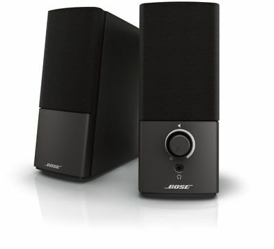 Bose Companion 2 Series Iii Multimedia Speakers - For Pc (With 3.5Mm Aux & P