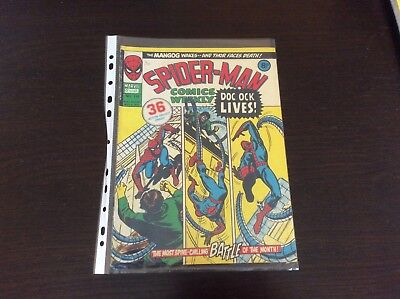 Spiderman Comics Bronze Age British X 5