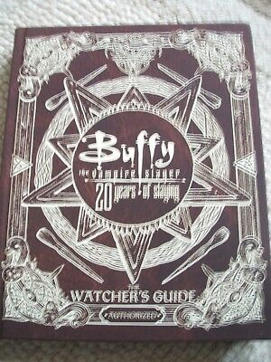 Buffy The Vampire Slayer 20 Years of Slaying: Authorized Watchers Guide B/New