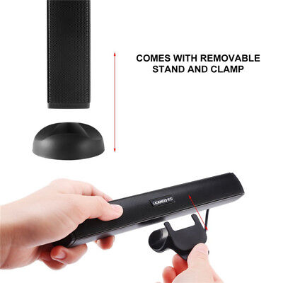 USB Power Audio Dock Sound Bar Stereo Speaker for Laptop Computer PC Notebook