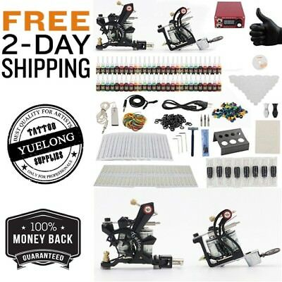 Professional Tattoo Kit Yuelong Hot Sale Complete 2 Machine Guns Top Quality