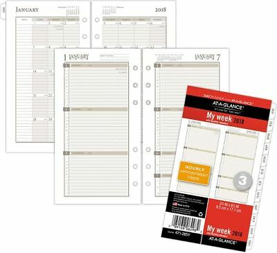At-A-Glance Day Runner Weekly Planner Refill Size 3 - Loose-Leaf Planner Refills