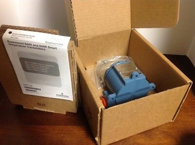 New In Box 644H Smart Temperature Rosemount Transmitter