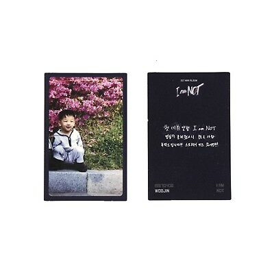 [STRAY KIDS] I Am Not Album Official Photocard/Childhood ver. - WOOJIN