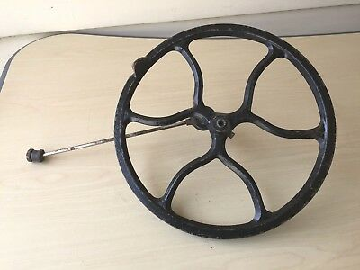 Vintage Singer Treadle Sewing Machine Stand WHEEL PART