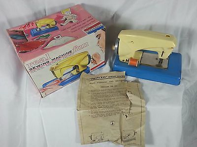 Vintage 1964 Princess Real Sewing Machine IOB With Original Instructions