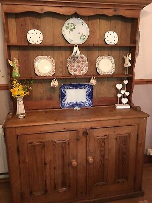 Stunning Large Genuine Antique Pine Dresser