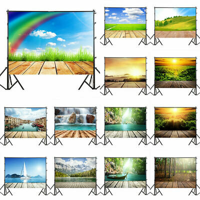 Natural Cloudy Sky Sunrise Photography Background Photo Backdrop 3x5ft/5X7ft Hot