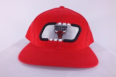 Chicago Bulls Nba Adult Snapback Red Cap Hat Nba Licensed Product (F-52) a240a67dfe7