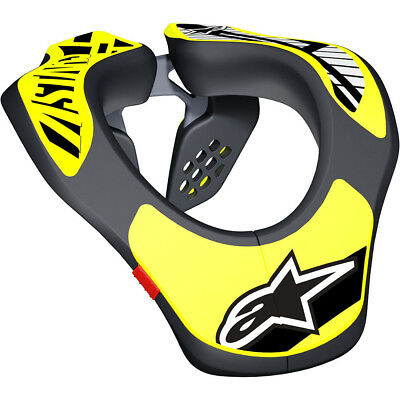 Alpinestars NEW Mx Black/Fluro Kids Youth Motocross Dirt Bike Neck Brace Support