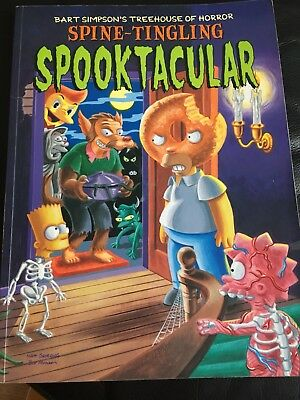 Bart Simpsons Tree House Of Horror Spooktacular