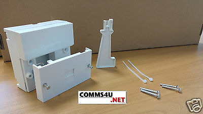 2018 BT Telephone Master Socket NTE5A + Back Box Genuine Pressac for Openreach