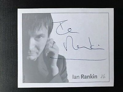 Ian Rankin Hand Signed Orion Publishers Bookplate  / Book Plate.