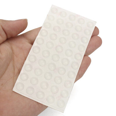 Suleve SFB01 50Pcs Self Adhesive Silicone Feet Bumper Dots Cabinet Buffer Stop P