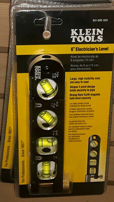 """KLEIN    Electricians 6"""" Level Magnetic Professional Quality"""