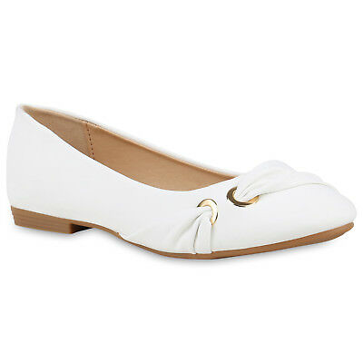 MUST-HAVE DAMEN  Zapatos  STYLISCH 134612 BALLERINAS WEISS 39 STYLISCH  0210d2