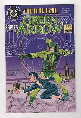 DC Comics Green Arrow Annual #1 Copper Age