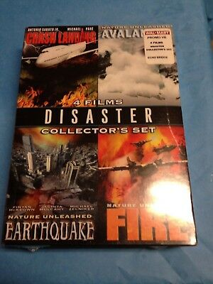 Sealed- Disaster 4 Film Collectors Set DVD with Free Shipping