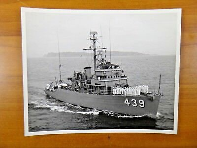 OFFICIAL Navy Minesweeper Ocean Ship  Photo 8x10 MSO-439 USS Excel