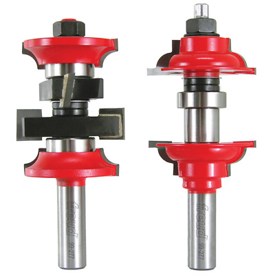 """New Freud Tools 99-277 1-7/8"""" (Dia.) Entry & Interior Door Router Bit System"""