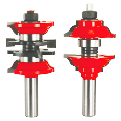 """New Freud Tools 99-268 1-7/8"""" (Dia.) Entry & Interior Door Router Bit System"""