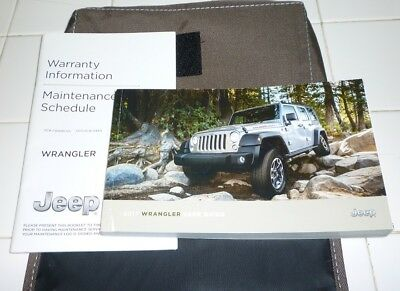 17 2017 jeep wrangler owners manual user guide 17 95 picclick rh picclick com 2013 Jeep Wrangler Unlimited Sahara Jeep Wrangler Unlimited Sahara
