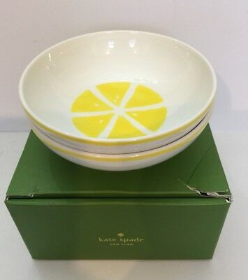 KATE SPADE With a Twist Bowls Set of 2