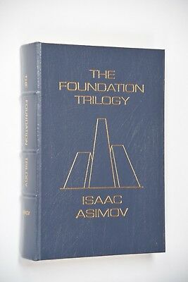 The Foundation Trilogy by Isaac Asimov Leather-Bound Signed Easton Press Limited