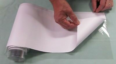 """5 YD 8"""" Brodart Just-a-Fold III Archival Book Jacket Covers - super clear mylar"""
