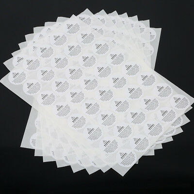 520Pcs Candle Warning Labels Distinct Self-adhesive Melting Sticker Paster
