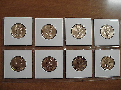 Complete set P&Ds 2012 Presidents 8coin set.